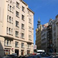 The Residence Principe is situated in renovated 5 floors building from turn of the century. There is a lift at the building. This  two-bedroom serviced apartment is 80 sq.m ,  and can sleep 3 people m