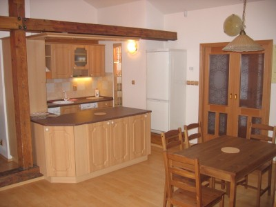 Building is located close to tram stop and just 5 minutes from Charles bridge This  two-bedroom serviced apartment is 89 sq.m ,  and can sleep 3 people maximum.  The apartment has 1 bathroom. The mini