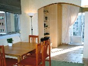 This  two furnished apartment is 30 sq.m and is located . The apartment has 1 bathroom. The minimum length of stay for this apartment is 3 Night(s).