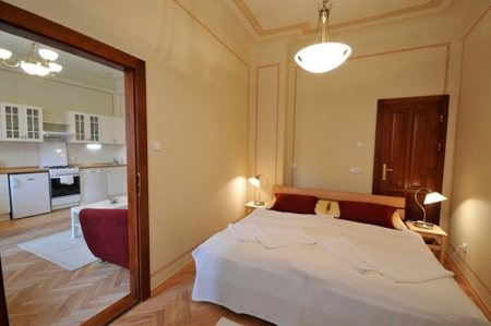 Each of the 3 fully equiped apartments (one on each floor) will give you great feel of privacy and comfort while surrounded by the magic of pictoresque old Prague.  There are 2 similar apartments on 2