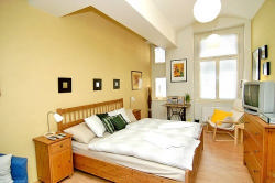 Totally renovated building from 1920`s This  one-bedroom serviced apartment is 41 sq.m ,  and can sleep 2 people maximum.  The apartment has 1 bathroom. The minimum length of stay for this apartment i